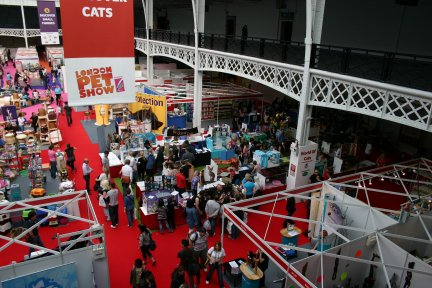 London Pet Show World of Cats Area